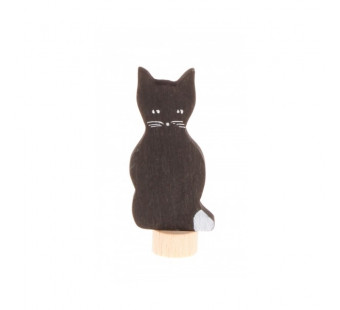Grimms decorative figure black cat (3940)