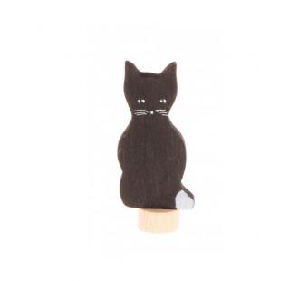 Grimms steker zwarte kat (3940)