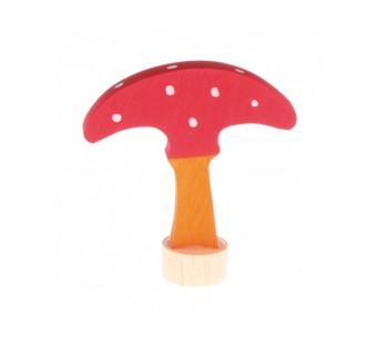 grimms traditional figurine mushroom  (3510)