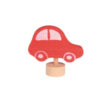 Grimms steker auto rood nieuw model (3560)