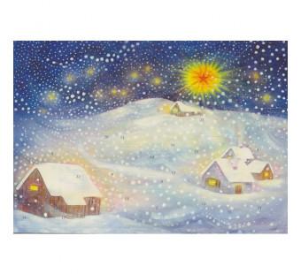 Advent calendar small made by Bernadette Lips - Winter