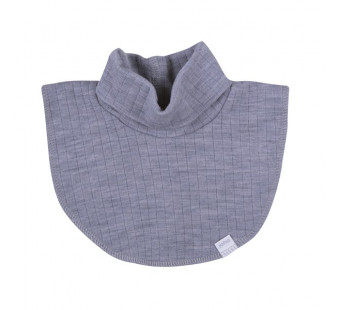 Joha poloneck soft grey 100% wool