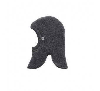 Joha grey thick balaclava 100% wool
