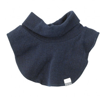 Joha navy polo neck 100% wool