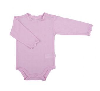 Joha kanten romper roze 85% wol 15% zijde  (66490)