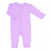 Joha roze kanten jumpsuit 85% wol 15% zijde