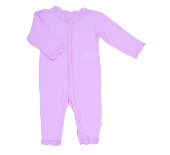Joha roze kanten jumpsuit 85% wol 15% zijde (35490)