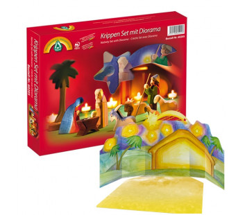Ostheimer christmas set with diorama 11 pieces