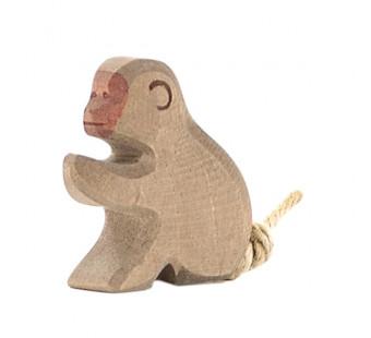 Ostheimer baviaan zittend (20792)