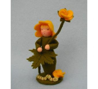 Bloemenkind boterbloem (Atelier Pippilotta)