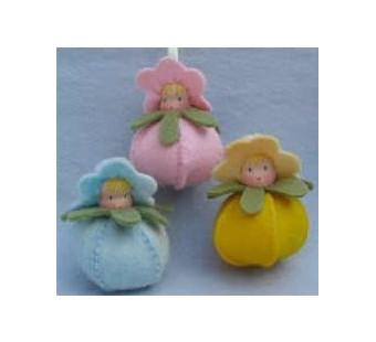 Drie lentekindjes (Atelier Pippilotta)