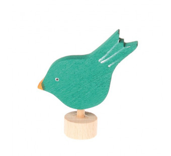 Grimms  traditional figurine pecking bird  (3531)