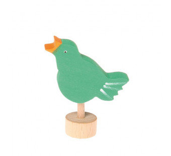 Grimms  traditional figurinesinging bird  (3533)
