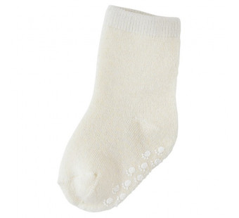 Joha white woolen socks 90% wool