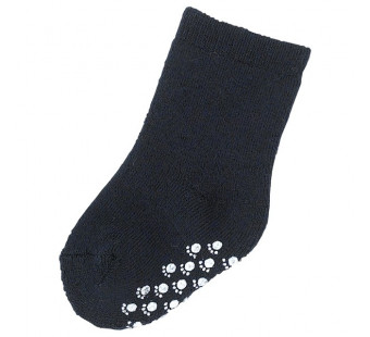 Joha navy woolen socks 90% wool