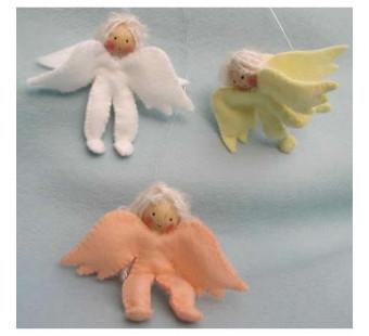 Drie engeltjes (atelier Pippilotta)