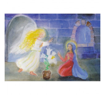Verkondiging aan Maria (Dorothea Schmidt)