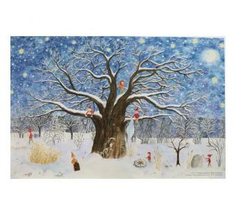 Adventskalender klein van Heuberger - Weihnachtsbaum