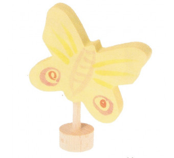 Grimms steker vlinder geel (3313)