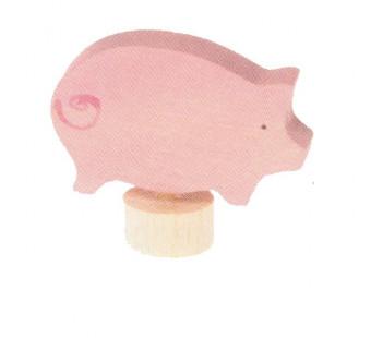 Grimms steker roze varken (3316)