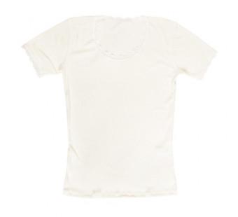 Joha white woolen tshirt (70403)