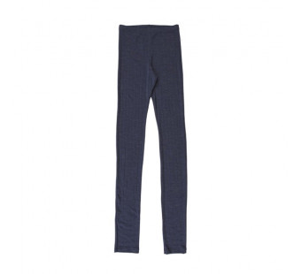 Joha wool silk legging navy