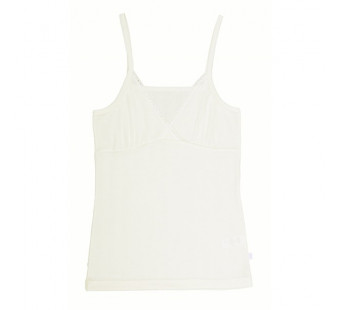 Joha hemdje wit wol/zijde (77690)