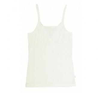 Joha sleeveless shirt natural wool silk (77690)