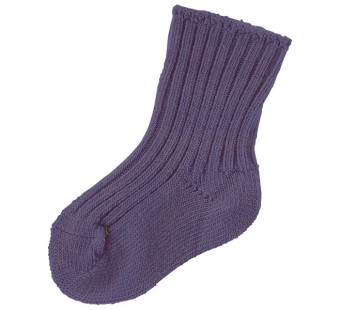 Joha wollen sokken 90% wol donkerpaars (kleur 15206) (5006)