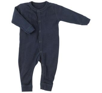 Joha merino woolen jumpsuit navy (56140)