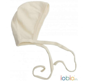Iobio popolini wool/silk bonnet natural