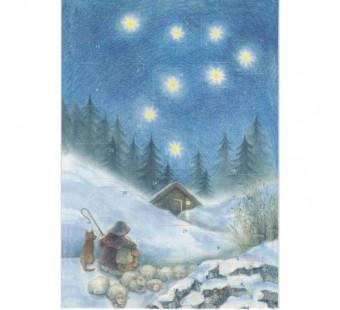 Advent calendar large Weihnacht mit dem Schafer (Sanne Dufft)