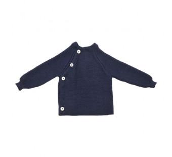Reiff woolen vest Marine
