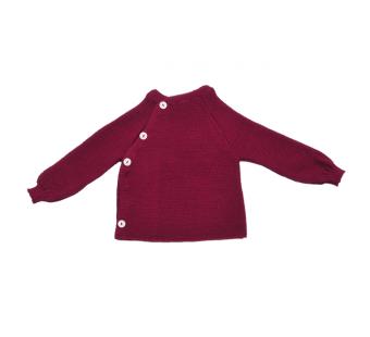Reiff woolen vest Beere