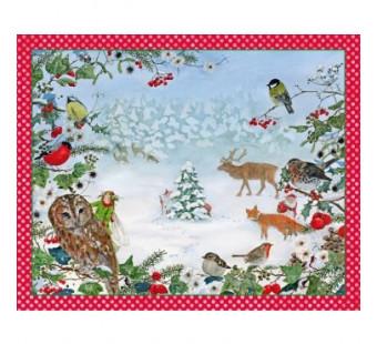 Advent calendar Waldweihnacht (Daniela Drescher)