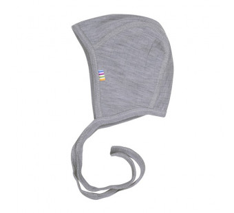 Joha merino woolen bonnet soft grey (96140)