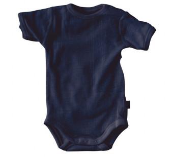 Joha merino woolen short sleeved body navy (62886)