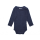 Joha wool silk long sleeved body navy