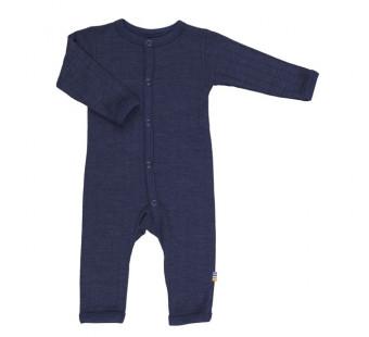 Joha wool silk jumpsuit navy