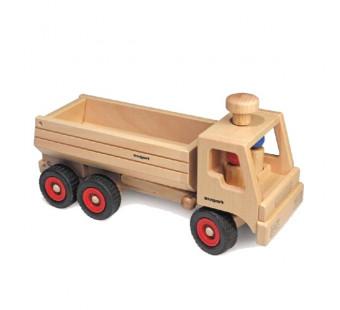 Fagus vrachtauto bestuur en kiepbaar.