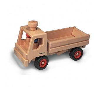 Fagus houten vrachtauto met open bak (10.45)
