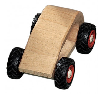 Fagus wooden car 'van'  (11.02)