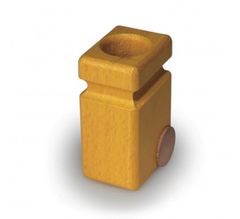 Fagus garbage cans yellow (20.82)