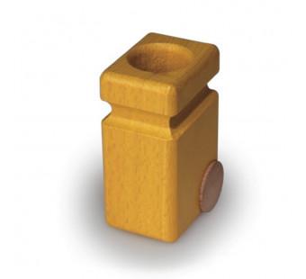 Fagus rolcontainer 2 stuks  geel (20.82)