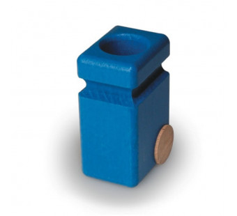 Faguswooden garbage cans blue (20.83)