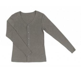Joha wool silk cardigan brown