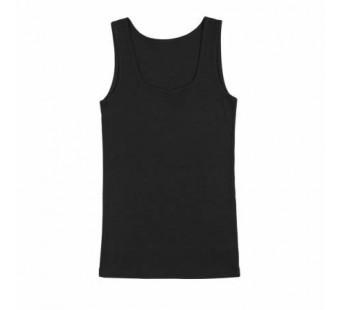 Joha tanktop zwart wol/zijde (11654)