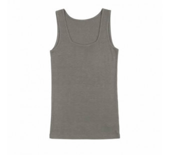 Joha tanktop brownish grey wool/silk (11654)