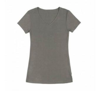 Joha tshirt bruingrijs wol/zijde (11655)