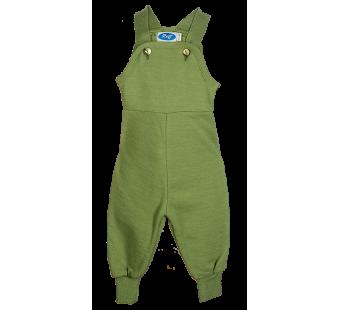 Reiff wol zijde tuinbroek van badstofstructuur (terry) groen